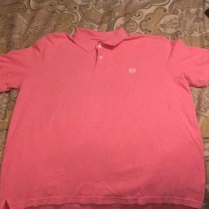 Men's Pink Chaps Polo.